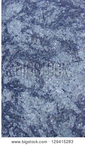 polygonal marble sheet slab in mixed blue