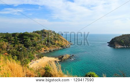 View of Windmill Viewpoint in Phuket ,Thailand.