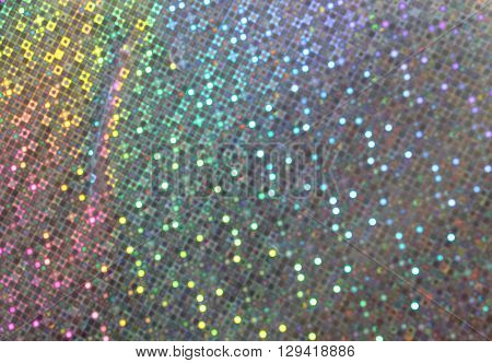 Shimmering Background With Many Colors Of The Rainbow