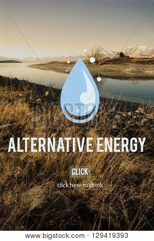Clean Water Alternative Energy H2o Concept