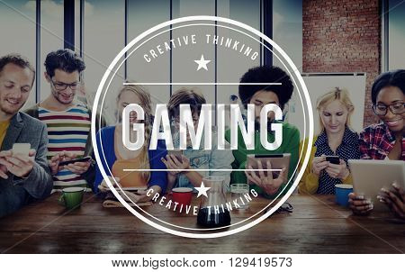 Gaming Hobbies Betting Risk Solution Concept