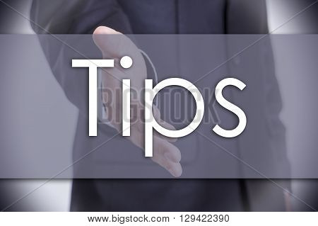Tips - Business Concept With Text