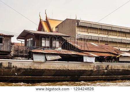 Chao Praya River Side