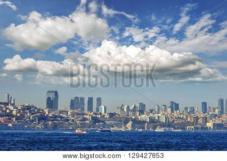 view of istambul city, Turkey