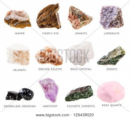 Mineral Stones Collection