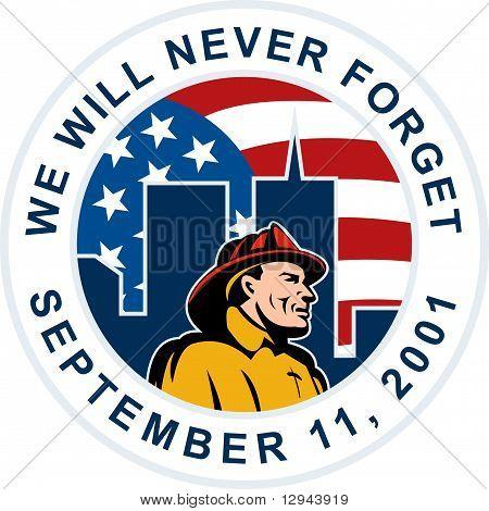 9-11 911 fireman brandweerman