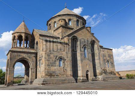 old Saint Hripsime Church Echmiadzin in Armenia