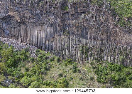 Unique Geological Wonder Symphony Of The Stones Near Garni, Armenia