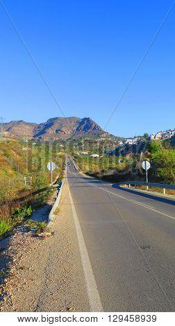 Alora Village New Access Road Andalucia Spain