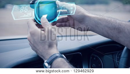 A watch against man using satellite navigation system