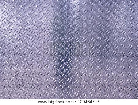 The diamond steel metal sheet