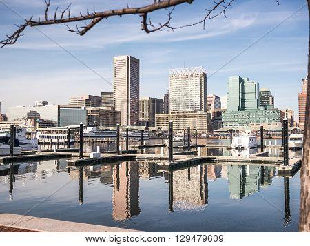 The Baltimore Harbor