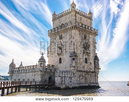 Morning In The Tower Of Belem