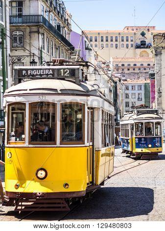 The Tram Behind