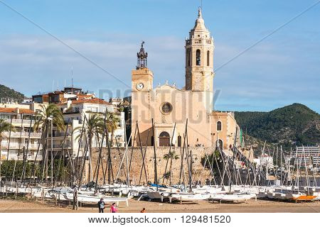 The Church Of Sitges