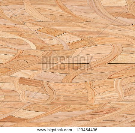 Wooden decorative seamless pattern.Wood parquet texture background