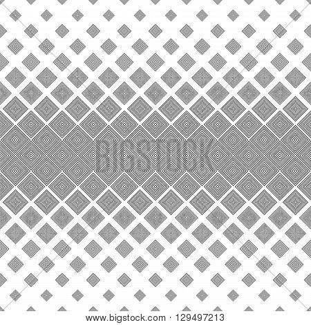 Repeating black and white abstract square pattern background