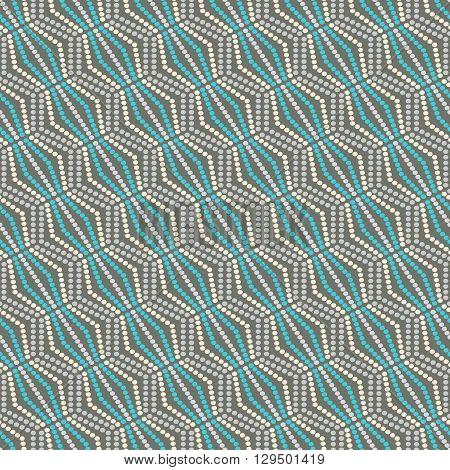 seamless pattern dots -vector illustration. Print texture original fabric pattern.