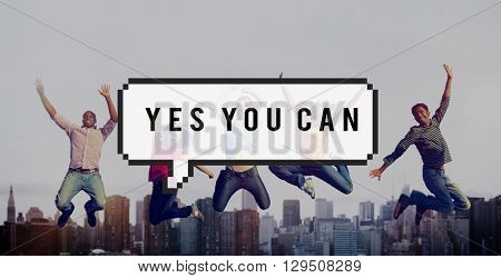 Yes You Can Win Achieve Concept