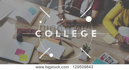 College Education Knowledge Insight Studying Learning Concept