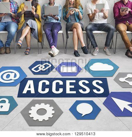 Access Available Usable Accessability Concept