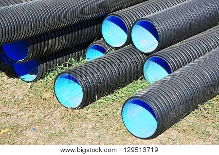 Stacked Pvc Pipe