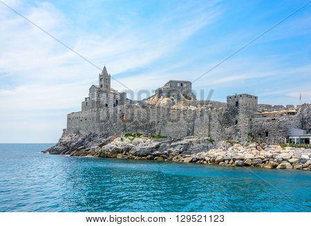 The castle of Portovenere