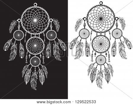 Native American Indian talisman dreamcatcher