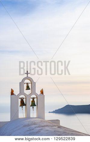 Church in Imegovigli, Santorini