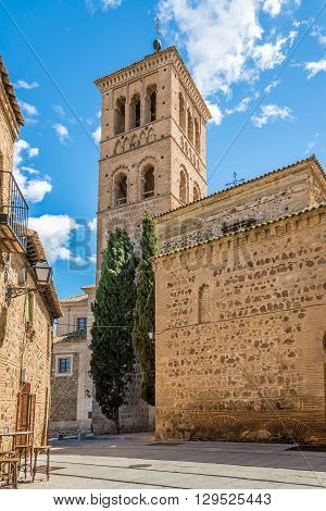 TOLEDO,SPAIN - APRIL 23,2016 - Museum of the Councils and Visigoth Culture in Toledo. Toledo is known as City of the Three Cultures .