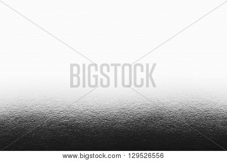 Silver background with gradient and header. The texture.