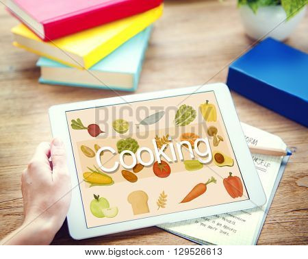 Cooking Eating Good Food Gourmet Concept