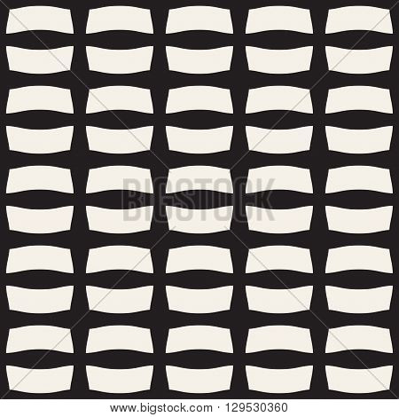 Ribbon seamless pattern. Fashion graphics background design. Modern stylish texture for wrapping wallpaper website blog etc. Monochrome template for prints textiles apparel. VECTOR Illustration