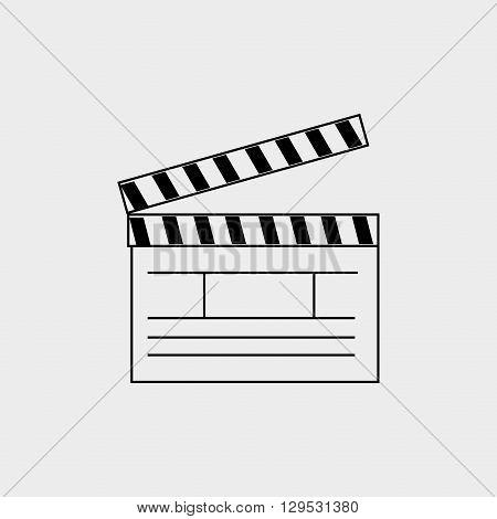film industry flat icon  design, vector illustration eps10 graphic