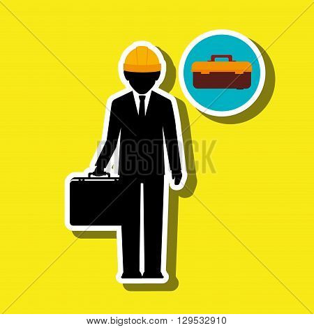 professional construction design, vector illustration eps10 graphic