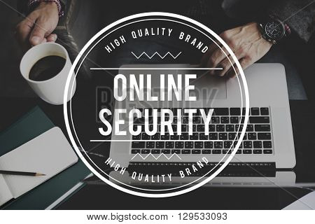 Online Security System Privacy Protection Technology Concept