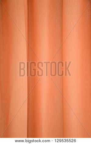 close up brown curtain or drapery background