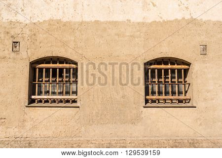 Prison With Bars On The Windows