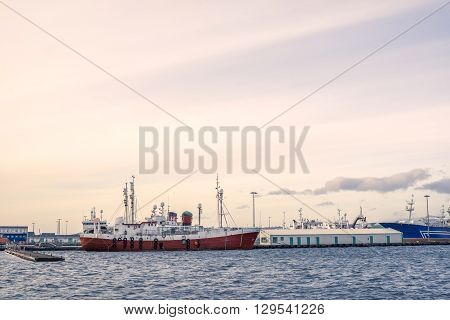 Ships By The Docks