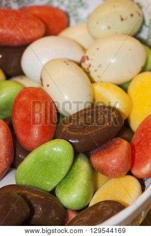 sweet candy eggs for an easter treat