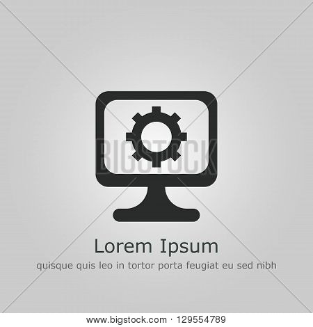 Pc Settings Icon In Vector Format. Premium Quality Pc Settings Symbol. Web Graphic Pc Settings Sign