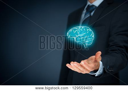 Bring creativity for your business business vision headhunter concepts business intelligence mental health and psychology business decision making copyright and intellectual property rights.