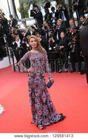 Victoria Bonya  attends the 'Money Monster' Premiere during the 69th annual Cannes Film Festival on May 12, 2016 in Cannes, France.