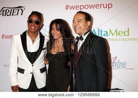 LOS ANGELES - MAY 12:  Jermaine Jackson at the Power Up Gala at the Beverly Wilshire Hotel on May 12, 2016 in Beverly Hills, CA