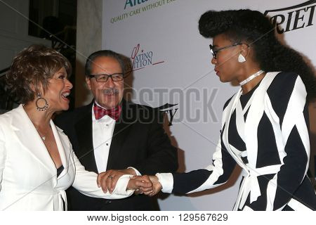 LOS ANGELES - MAY 12:  Debbie Allen, Janelle Monae at the Power Up Gala at the Beverly Wilshire Hotel on May 12, 2016 in Beverly Hills, CA