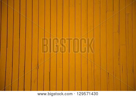 Yellow wooden slats good for a background