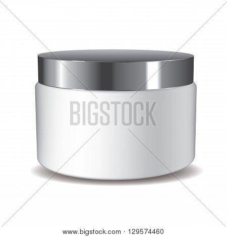 3D Cream Pot