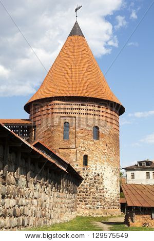 14th century castle of Kaunas, the second largest city in Lithuania.