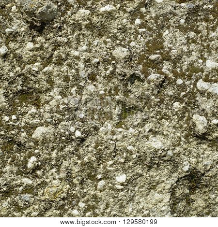 Light aged volcanic tuff rock texture for background
