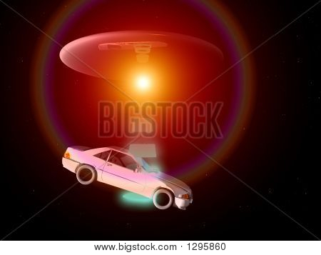 Car And Ufo 67